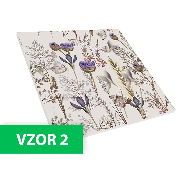 Flat Panel VMT - Floral Collection, pack 8ks