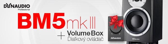 Štúdiové reproduktory Dynaudio BM5 mk III + DARČEK