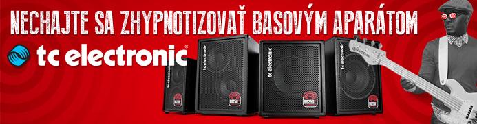Nechajte sa zhypnotizovať basovými kombami TC Electronic