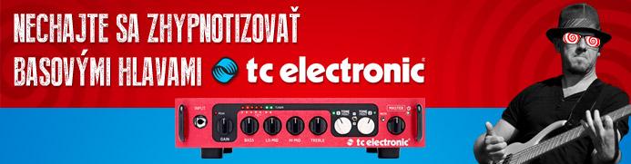 Nechajte sa zhypnotizovať basovými hlavami TC Electronic
