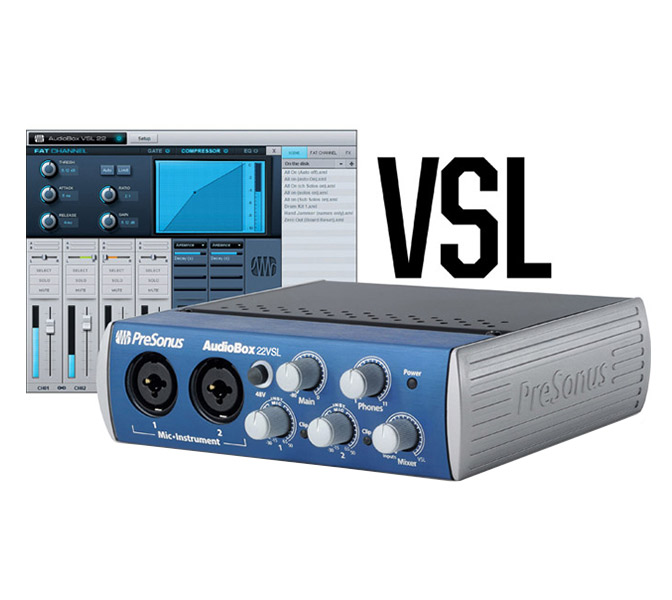 PreSonus AudioBox 22VSL USB zvuková karta
