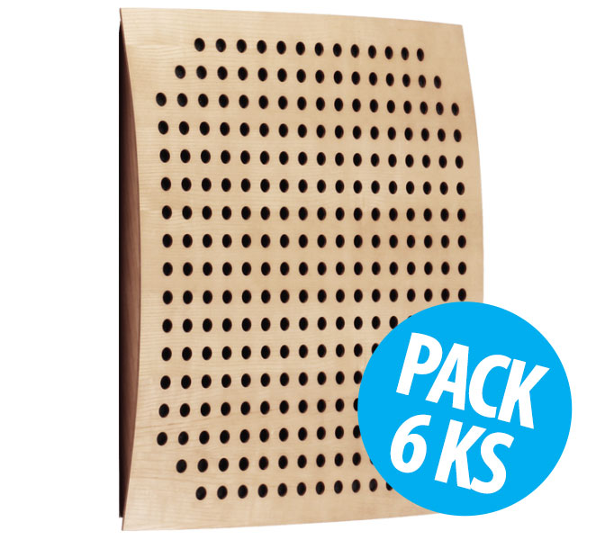 Omega Wood, Nordik, pack 6 ks