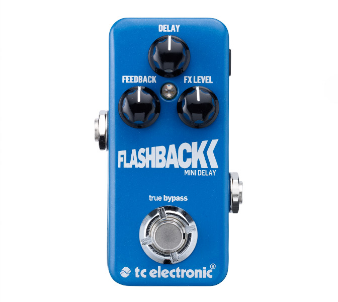 TC Electronic FlashBack Mini Delay, delay pedál