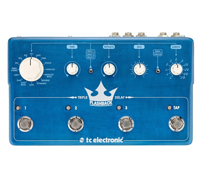 TC Electronic FlashBack Triple Delay, Triple delay