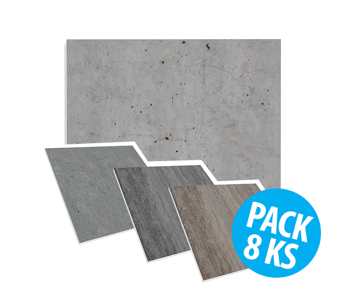 Flat Panel VMT - Concrete Collection, pack 8ks
