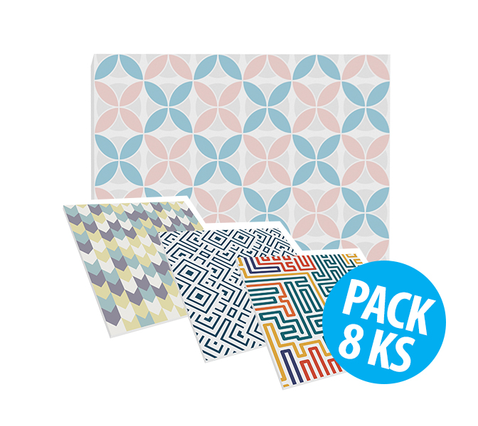Flat Panel VMT - Geometric Collection, pack 8ks