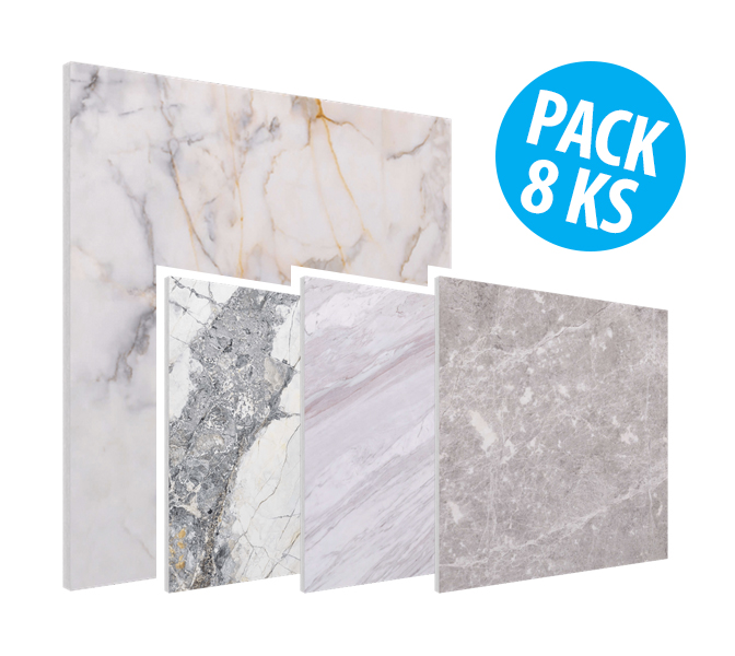 Flat Panel VMT - Natural Light Stone Collection, pack 8ks