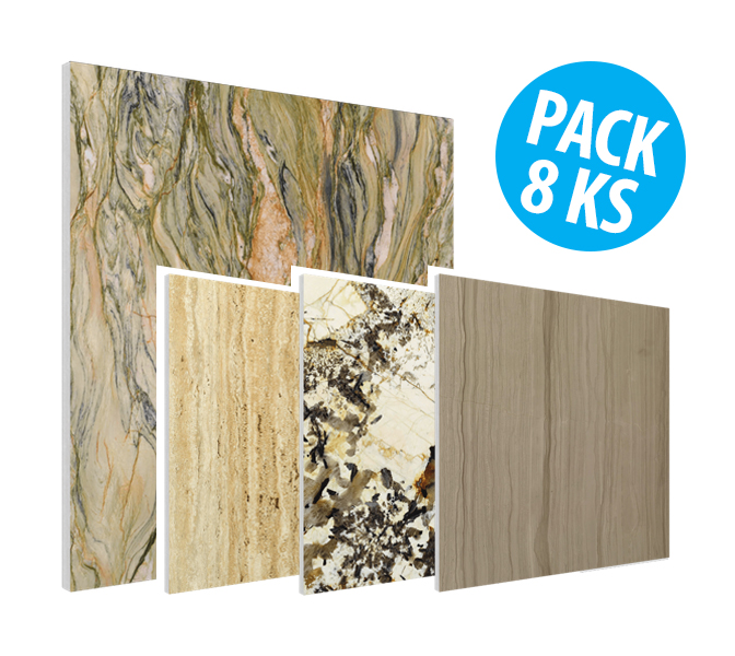 Flat Panel VMT - Natural Stone Collection, pack 8ks